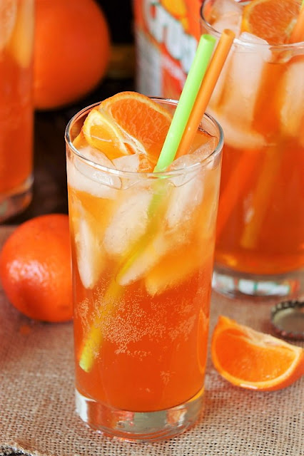 Orange Creamsicle Drink image