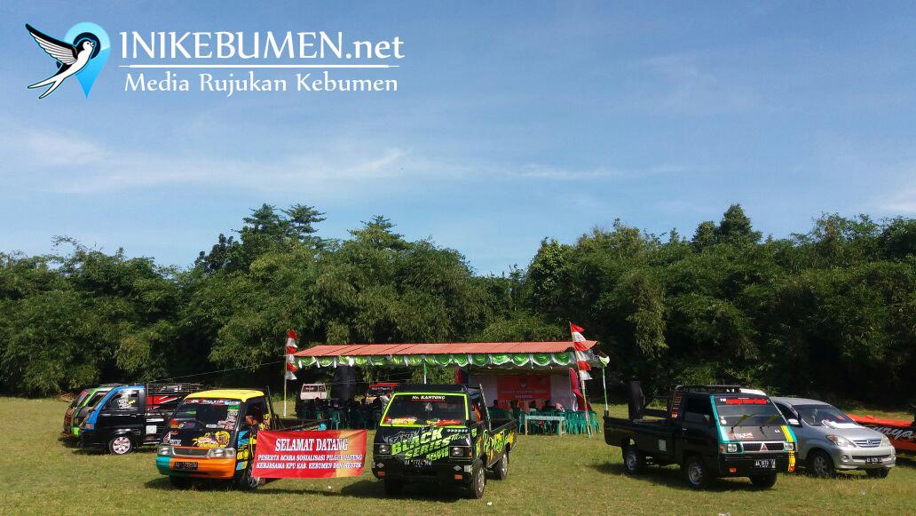 Komunitas L300 Kebumen Ajak Warga Tak Golput pada Pilgub Jateng