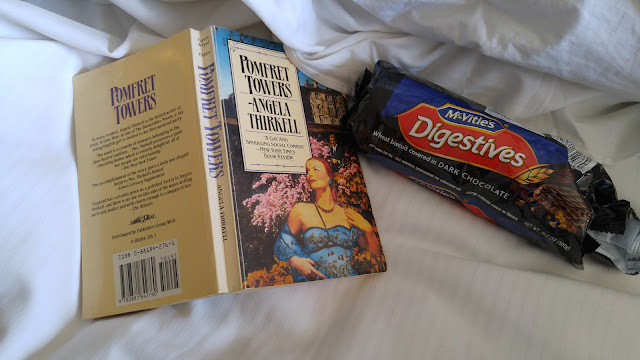 book and biscuits
