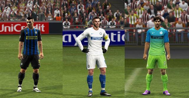 PES 2013 Inter Milan 2016/17 GDB Update v2 by Strex Kitmaker