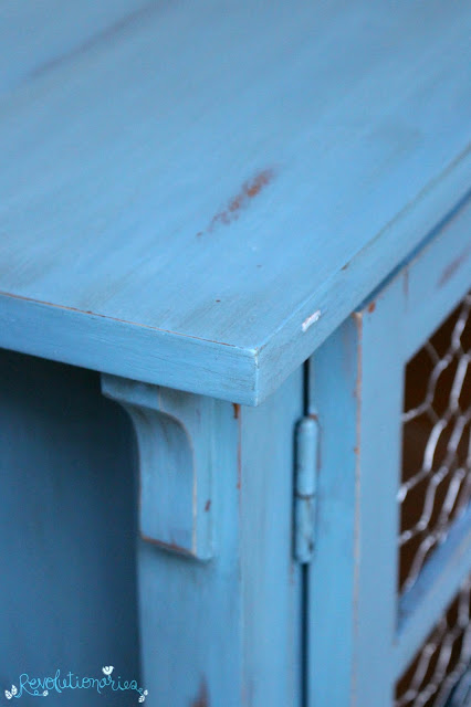 "Revolutionaries: Before and After with Miss Mustard Seed's ""French Enamel"" Milk Paint"