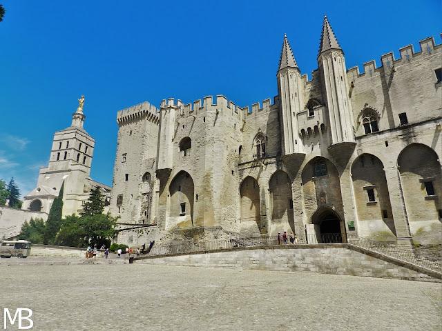 Avignone Palazzo dei Papi Francia