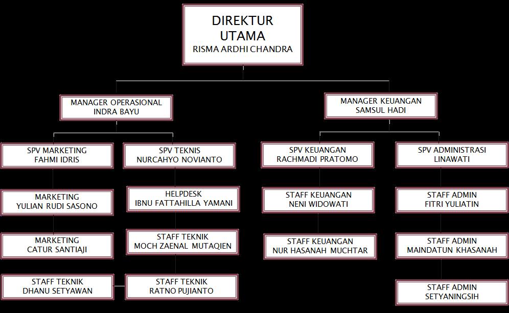 Struktur Organisasi Dapur Desainrumahid Com
