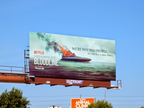 Bloodline series premiere billboard