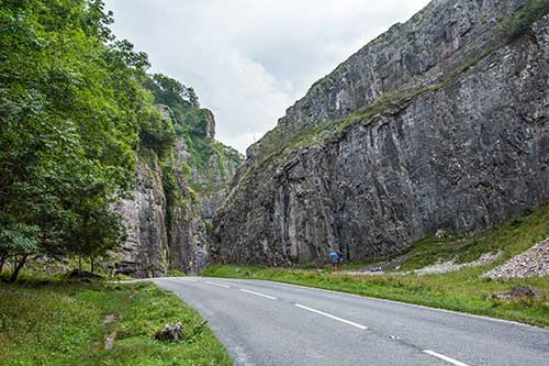 Cheddar Gorge, UK.