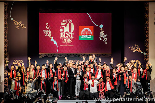 Macau Asias 50 Best Restaurants 2018 Awards Ceremony