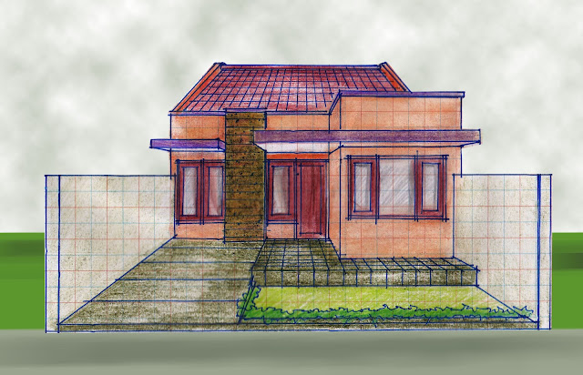 view of house plan A-14