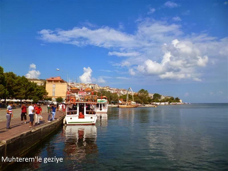 Sinop Sahilleri ve Limanı