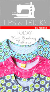 Knit Binding Tutorial