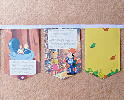 image bunting the magic faraway tree enid blyton moon-face saucepan man silky storybook nursery domum vindemia
