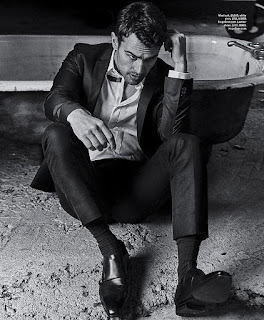 THEO JAMES TALKS ABOUT THE 'DIVERGENT' SERIES WITH 'ESSENTIAL HOMME' MAGAZINE Details at JasonSantoro.com