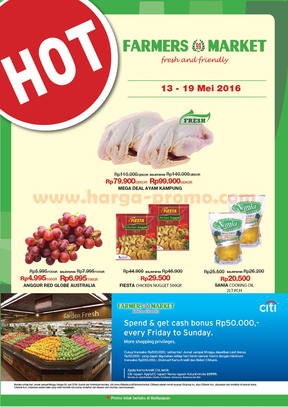 Katalog Promo Farmers Market Akhir Pekan Weekend Promo Periode 13 19 Mei 2016 Up To Date Post