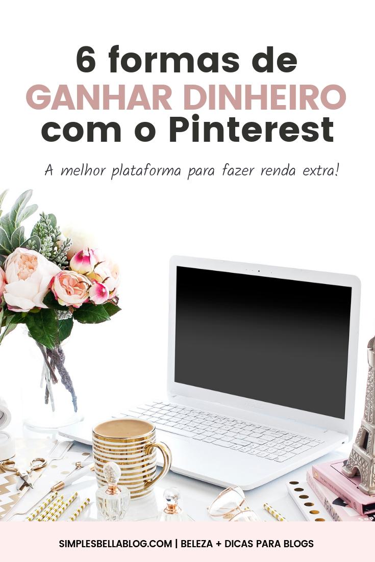 6 formas de ganhar dinheiro com o Pinterest