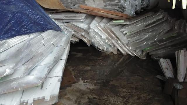 Kotak Suara Kardus Rusak Terendam Banjir, Gerindra: Katanya Kedap Air, Bagaimana Itu?
