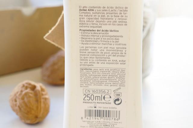 ingredientes crema acilac sawes