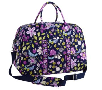 c2c326b389d6 I was sent two items from Vera Bradley  the Grand Traveler and the Cheers  to You wine bottle gift bag