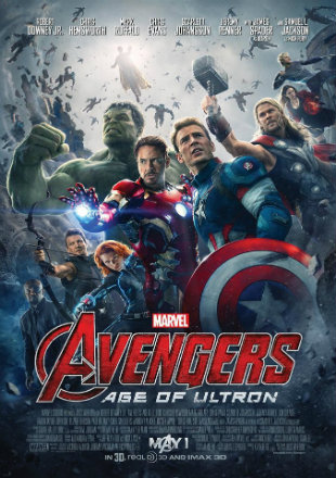 Avengers 2 Age Of Ultron 2015 BRRip 450MB Hindi Dual Audio 480p