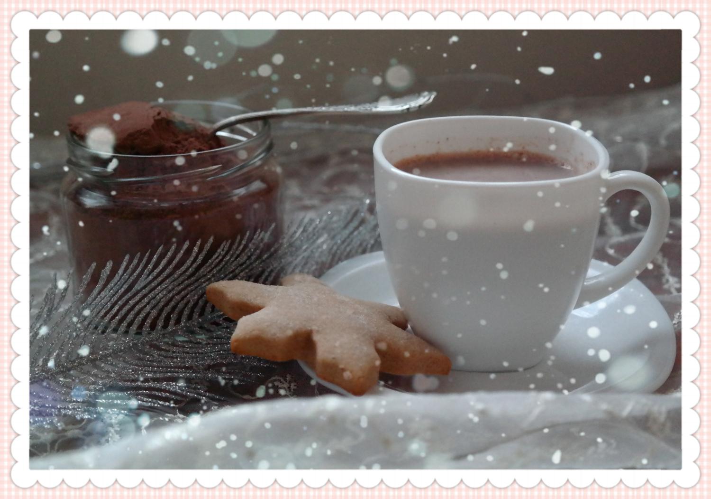 Domowa gorąca czekolada - świąteczny prezent DIY