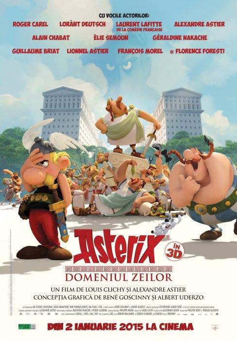 Asterix – Domeniul Zeilor Dublat Online In Romana