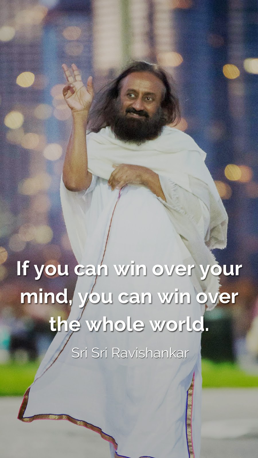 6 HD mobile wallpapers of Sri Sri Ravishankar guruji quotes - Turnspiritual.in, Turn Spiritual