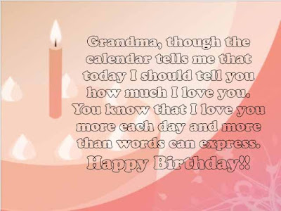 long birthday message for grandmother