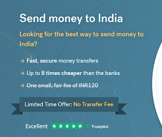 send money to India using CurrencyFair