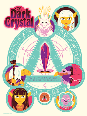 The Dark Crystal Screen Print by Dave Perillo x Bottleneck Gallery