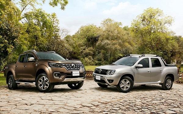 Renault Alaskan y Duster Oroch