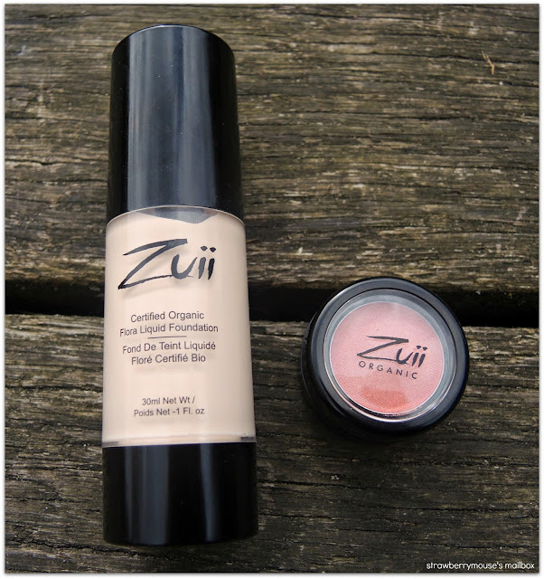 Zuii Foundation and Eyeshadow