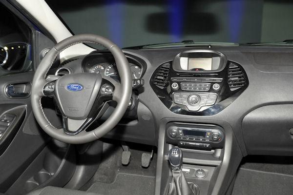 ford ka + 2016 interior