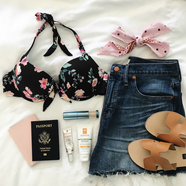 mexico packing list, cozumel, mexico, travel blogger, north carolina blogger, style on a budget, packing list for vacation