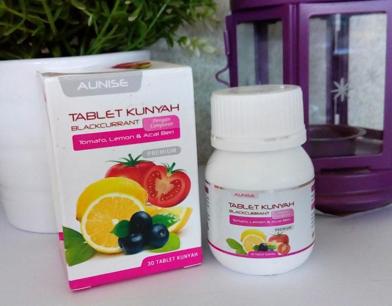 Tablet Kunyah Dari Aunise Untuk Kesihatan Kulit