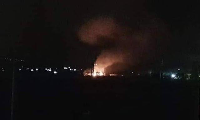 طائرات للإحتلال الإسرائيلي تقصف مدينة مصياف السورية