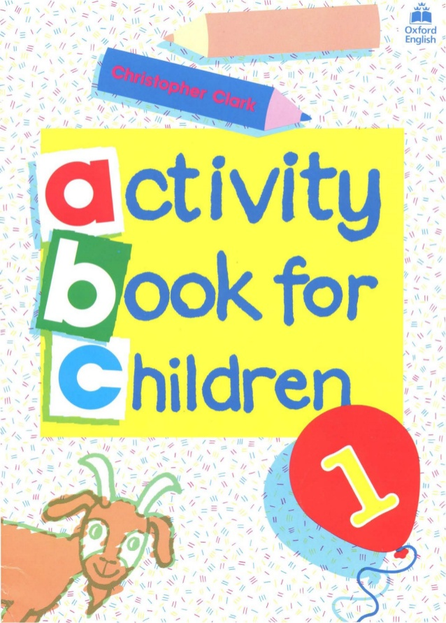 Activity Book For Children 1.