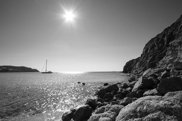 Spiaggia di Kalo Livadi-Mykonos