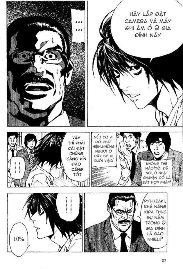 Death Note chapter 016 trang 3