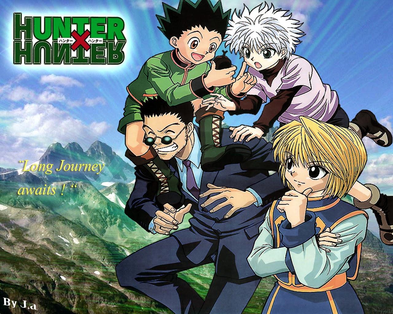 Hunter X Hunter Wallpaper HD Otaku   Otaku brings us together