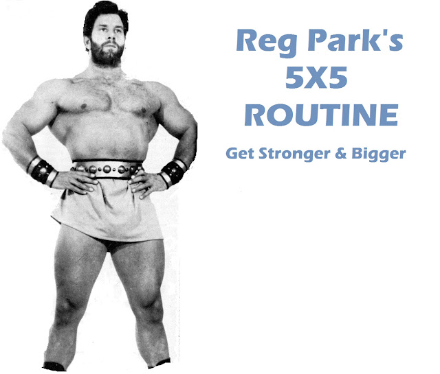 Reg Park's 5x5 Workout