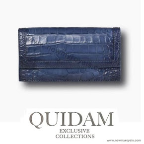 Crown Princess Mary carries Quidam Alligator Clutch