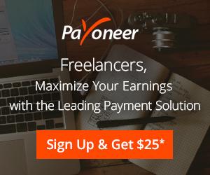 $25 reward payoneer signup