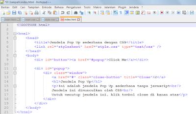 Belajar HTML Bagian 3 : Memilih Aplikasi Text Editor 7