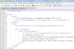 Belajar HTML Bagian 3 : Memilih Aplikasi Text Editor