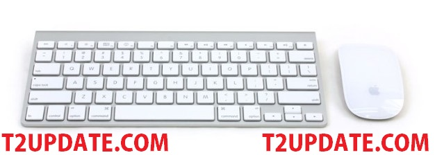 Apple iMac's 27-inch Mouse And Keyboard t2update