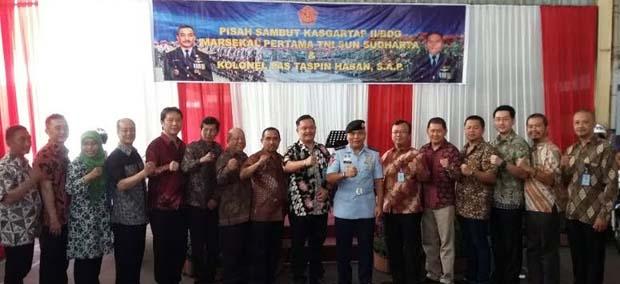 Kolonel Pas Taspin Hasan Resmi Jabat Kasgar Tap II/Bdg