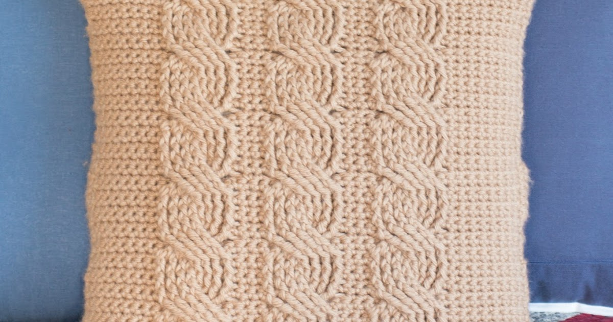Hopeful Honey Craft, Crochet, Create: Cabled Throw ...
