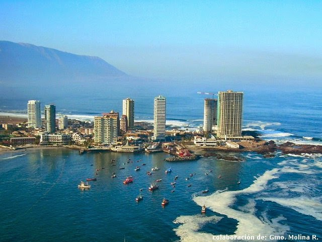 City of Iquique, Northern Chile