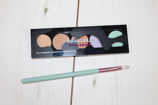 L'Oreal Infallible Total Cover Concealer Palette Review & Photos