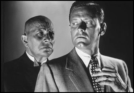 Erich von Stroheim y William Holden en 'El crepúsculo de los dioses' (Billy Wilder, 1950)