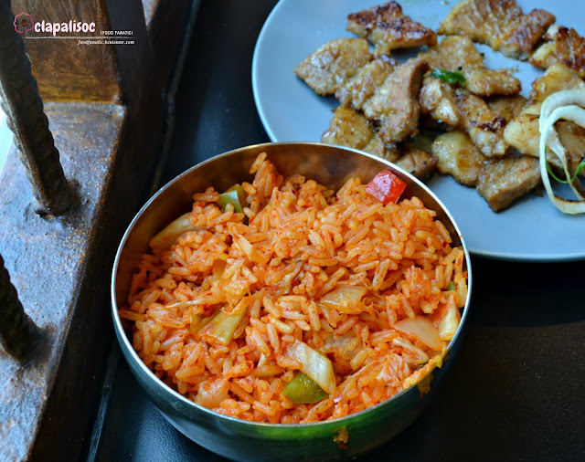 Kimchi Rice from Soban K-Town Grill