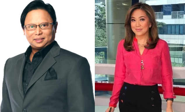 """Sakay sa issue?"" Arnold Clavio chides Karen Davila over Twitter post"